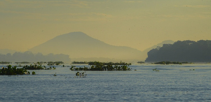 Rio Paraguai no Pantanal