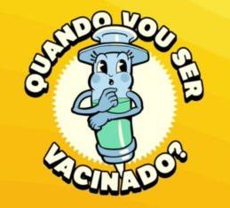 """""""Quando vou ser vacinado?"""" faz sucesso na web"""