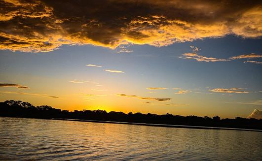 Sunset no Pantanal