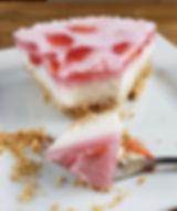 receita, dieta, emagrecer, saudavel, tatiana costa, scoop by scoop, cheesecake, morango, fitness, nutrição