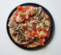 receita fitness pizza saudável caseira de arroz light