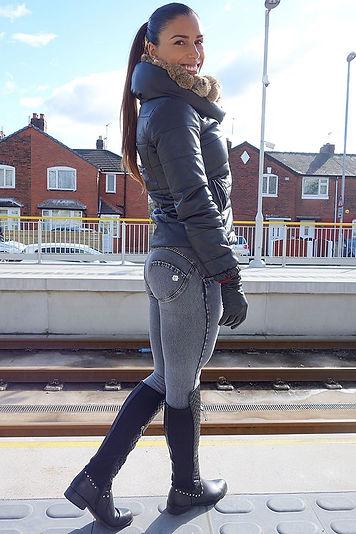 calças jegging leggings perfeitas freddy