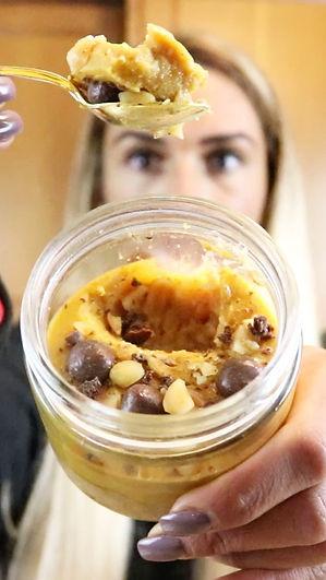 receita, dieta, emagrecer, saudavel, myprotein, scoop by scoop, proteina, light, tatiana costa, fitness, nutrição, pudim, amendoim