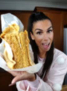 receita, dieta, emagrecer, saudavel, tatiana costa, scoop by scoop, pão de ló, fitness, nutrição