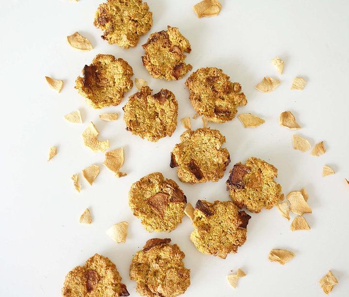 receita, fit, saudável, fácil, integral, light, maçã, canela, biscoito, snack, dieta
