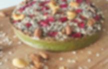 receita, fit, saudável, sem glúten, integral,light, bolo, brocolis, brócolos, morango, caju, castanha, aveia