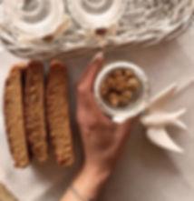 receita saudável bolo fit de granola