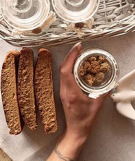 receita fitness saudável bolo de granola
