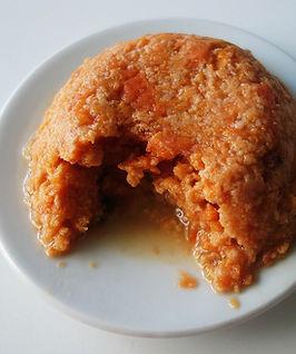 receita fitness suflé light de batata doce
