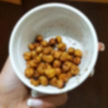 grão fit crocante dieta pipocas