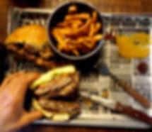barbecue bbq burger hambúrguer carne proteína cheat meal batata doce melhor hamburgueria fitness