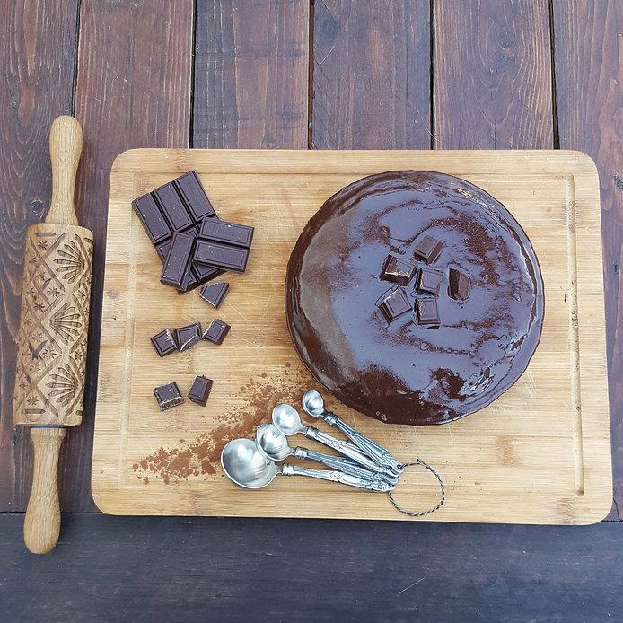 bolo dieta chocolate negro cacau magro saudável