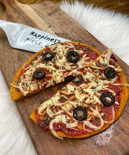 pizza, saudavel, fitness, microondas, rapido, facil, receita, fit, gluten, emagrecer, sem farinha