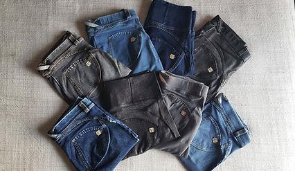 freddy calças jeans leggings fitness