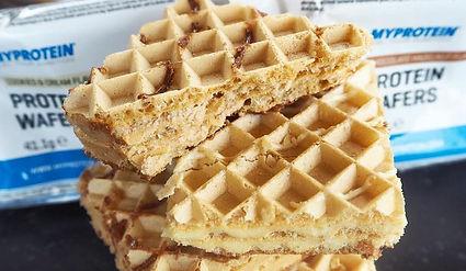 wafers proteicos doce fitness snack saudável myprotein