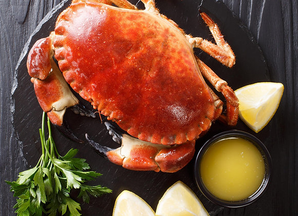 Cooked Brown Crab