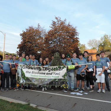SGP Team at MSU Homecoming Parade in Oct