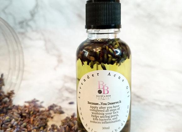 Lavender Acne Facial Oil