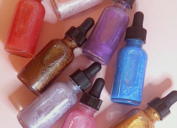 Moisturizing Shimmer Oils