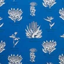 Botanical Protea (Royal Blue)