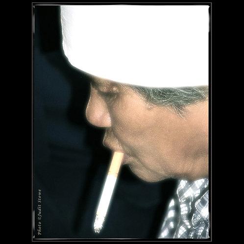 Woman with Cigarette - Femme avec Cigarette