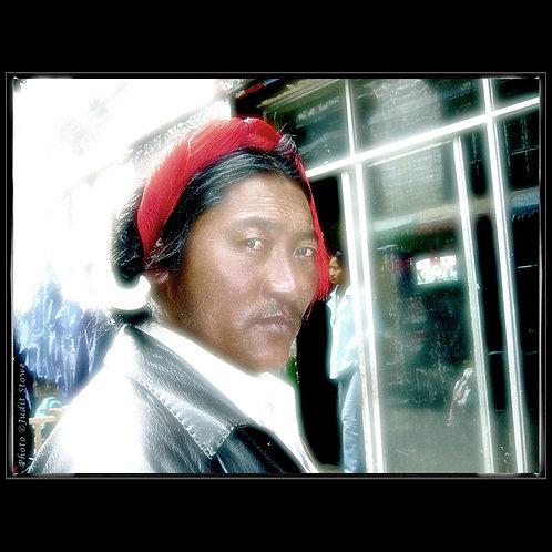 Tibet Man - Tibétain