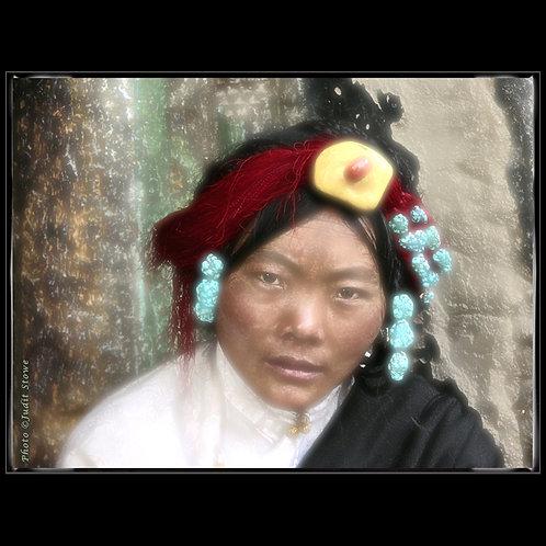 Tibet Girl - Tibétaine