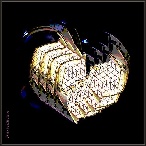 Homage Vasarely #1 - Hommage Vasarely #1