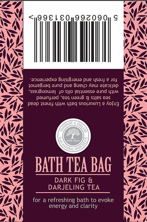 Dark Fig and Darjeeling Bath Tea Bag