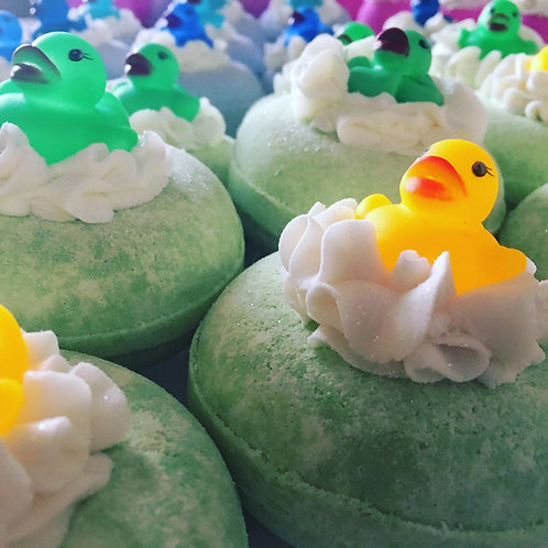 Sweet Apple Doughnut Bath Bomb