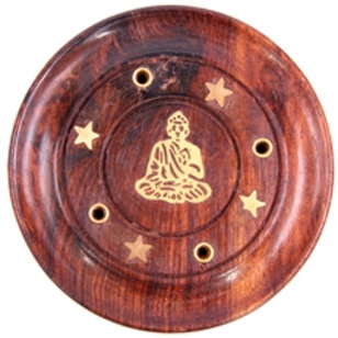 Wooden Incense Plate