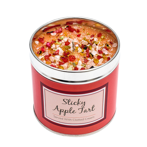 Sticky Apple Tart Candle