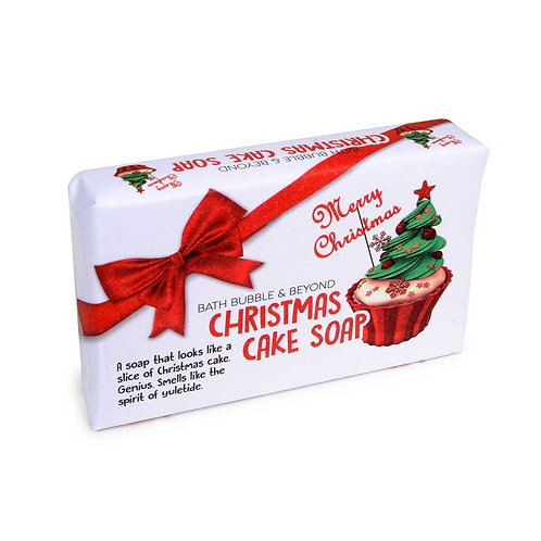 Christmas Cake Soap Bar