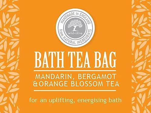 Mandarin, Bergomot and Orange Blosson Bath Tea Bag