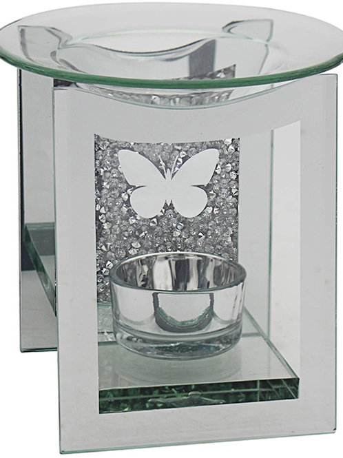 Butterfly Glass Wax Burner