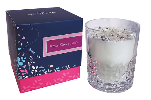 Dragonfly Panache Glass Candle