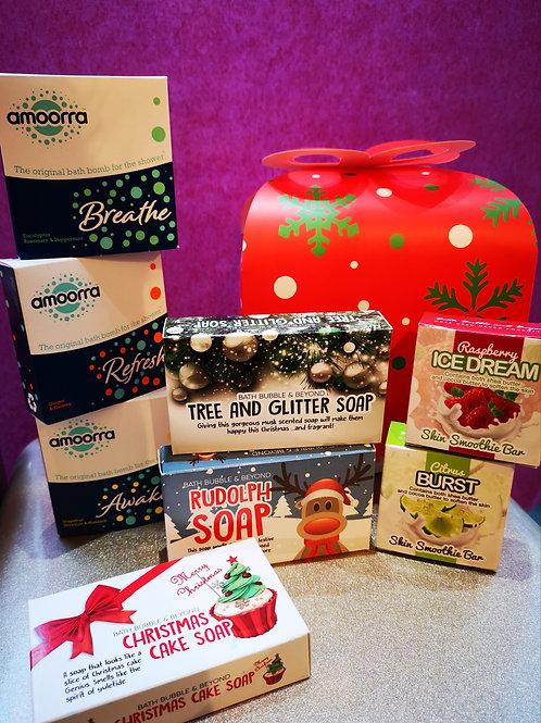 Christmas Shower Gift Box