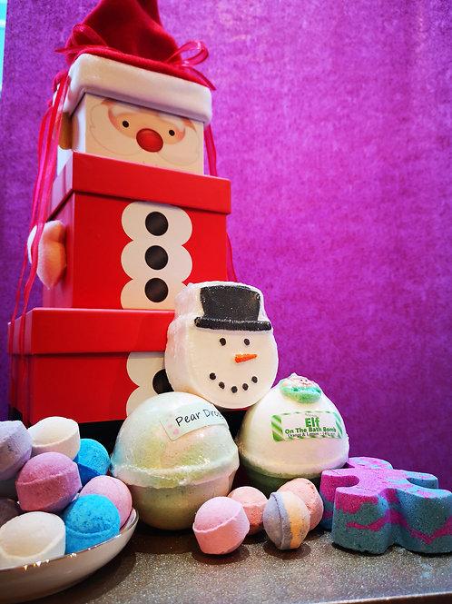 Santa Claus Stacking Gift Set