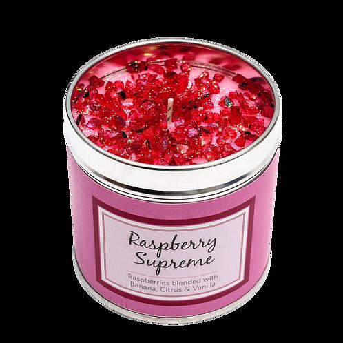 Raspberry Supreme Candle