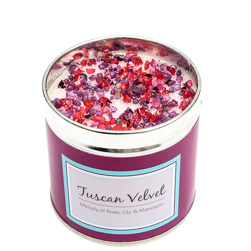 Tuscan Velvet Candle