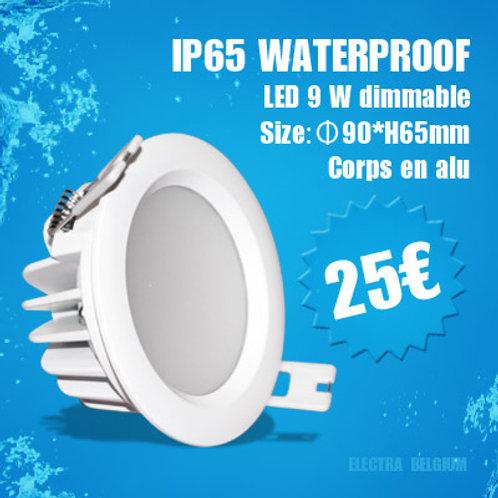 10 x spot 9 watts super brillant waterproof