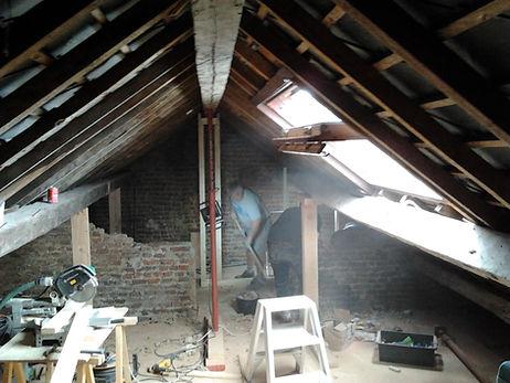 rénovation grenier