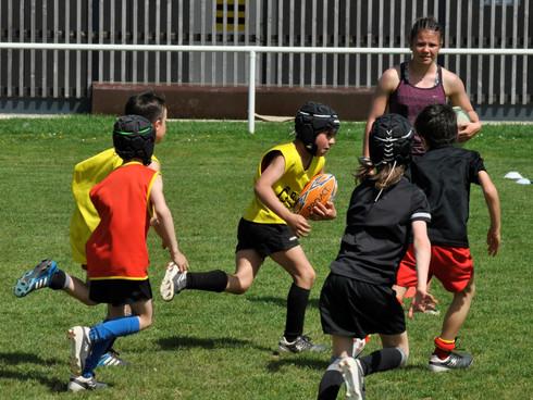 2 stages de rugby pour les vacances d'été à Launaguet!