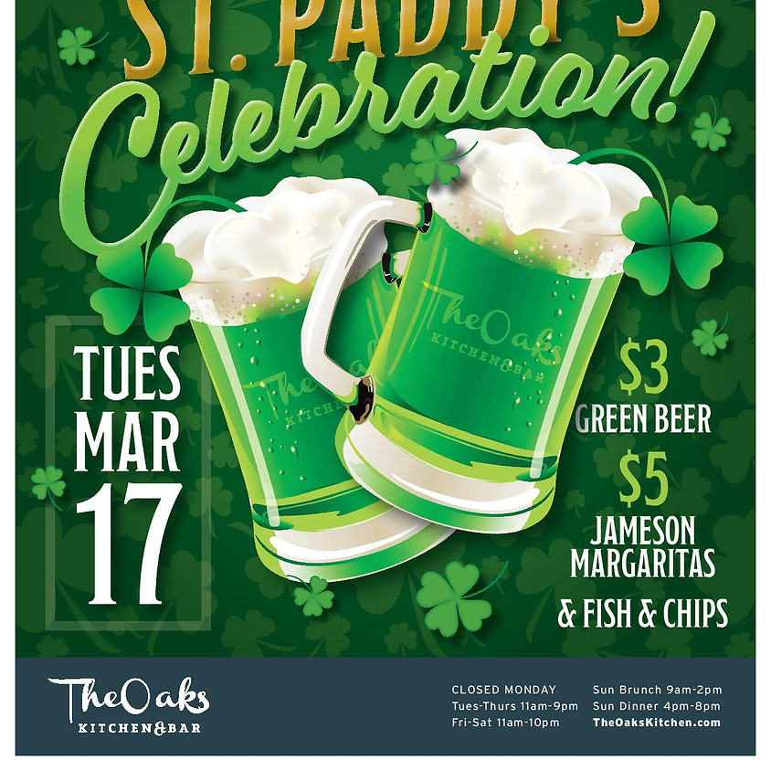 St. Patrick's Day at The Oaks!