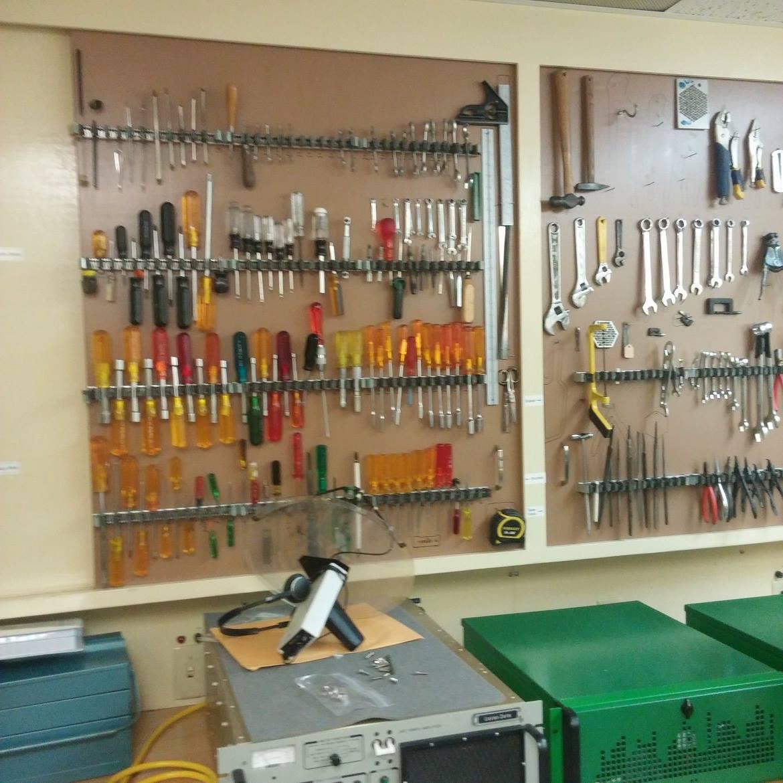 engineering work room