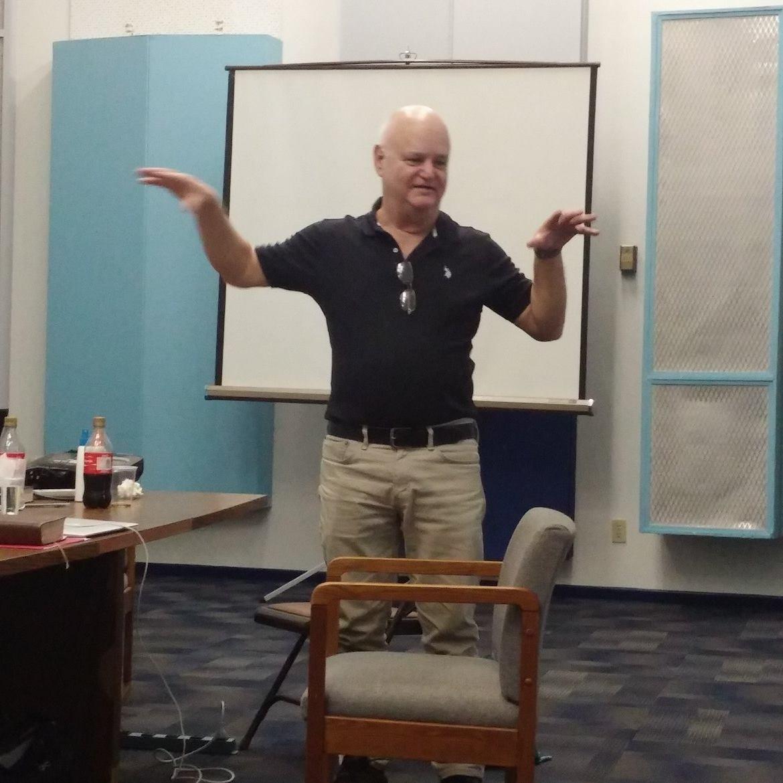 Alberto Gonzalez pastor from Cuba