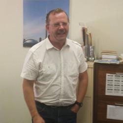Dick Veldman, station manager