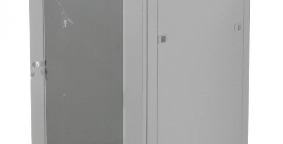 'Armadio Rack 19'''' a muro 12 unit� prof.600 Grigio da Assemblare Techly'