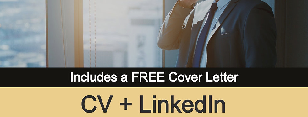 Mid-Level CV + LinkedIn Profile [All-in-One Package]