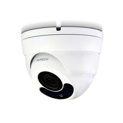 Telecamera CCTV Motorized Quadbrid 4 in 1 da 5 MP IR Dome